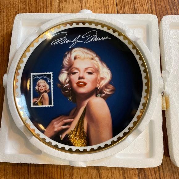 Marilyn Monroe Bradford exchange plate
